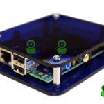 Caja Raspberry Pi Deep Blue