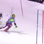 VIDEO-Ski-Hirscher-echappe-de-peu-au-crash-d-un-drone-en-plein-slalom